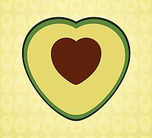avocado love by Shabnam Salek