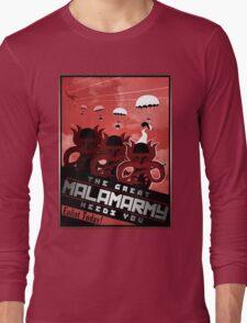 Malamarmy Propaganda Shirt - Pokemon Long Sleeve T-Shirt