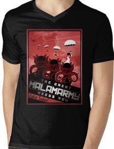 Malamarmy Propaganda Shirt - Pokemon Mens V-Neck T-Shirt