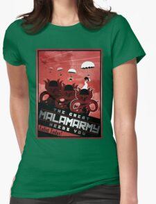 Malamarmy Propaganda Shirt - Pokemon Womens Fitted T-Shirt