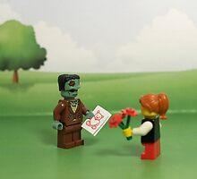 Frankenstein's Monster - Making Friends by emmkaycee