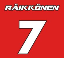 Raikkonen 7 Kids Clothes