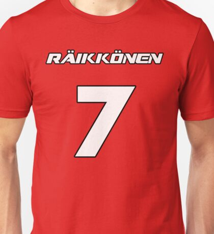 Raikkonen 7 Unisex T-Shirt