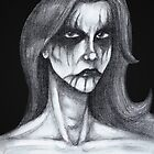 Black Metal Corpsepaint  by Luke Kegley