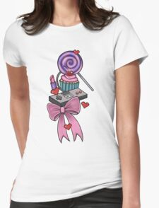 Girly Gamer Womens Fitted T-Shirt