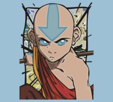 Avatar Aang - Rising Force by Keinage Clothing