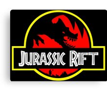 Welcome to the Jurassic Rift Canvas Print