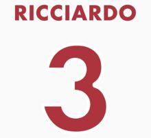 Ricciardo 3 Kids Clothes