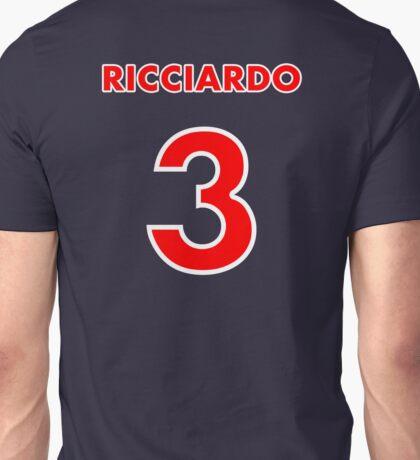 Ricciardo 3 Unisex T-Shirt