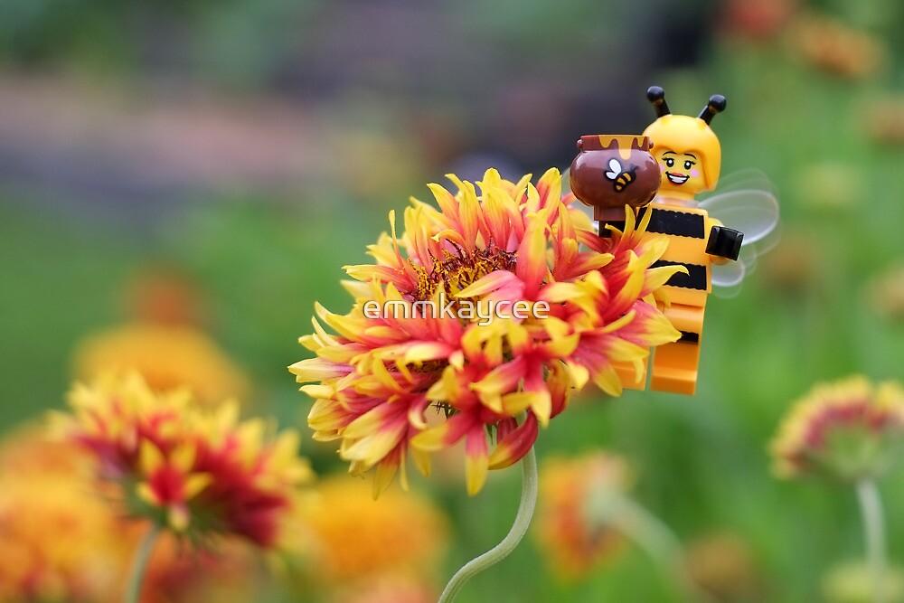 Bee Girl Buzzing Around The Bee Utiful Garden By