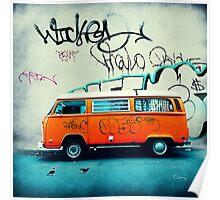 VW Van Poster