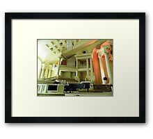 First Pentecostal Church Interior Framed Print