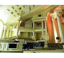 First Pentecostal Church Interior Photographic Print
