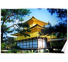 Kinkaku-ji Temple / Golden Temple, Kyoto, Japan Poster