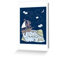 Follow the Stars Greeting Card