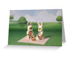 Bunny - Picnic Time Greeting Card