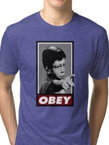 Twilight OBEY/ It's a good life! Tri-blend T-Shirt