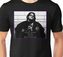 Chrispy Mugshot - Beyond Kayfabe Podcast Unisex T-Shirt