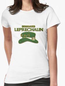Designated Leprechaun Womens Fitted T-Shirt