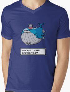 Wailsir Mens V-Neck T-Shirt