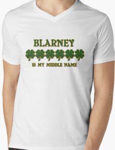Irish Blarney Mens V-Neck T-Shirt