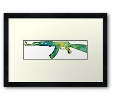 Paint Gun Framed Print