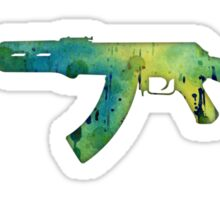 Paint Gun Sticker