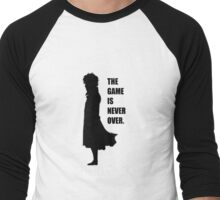 The Game is never over. Men's Baseball ¾ T-Shirt