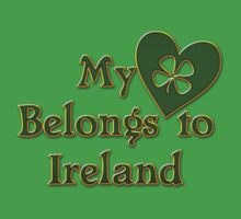 My Heart Belongs To Ireland Kids Clothes