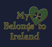 My Heart Belongs To Ireland One Piece - Long Sleeve