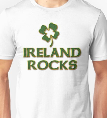 Ireland Rocks Unisex T-Shirt