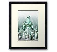 Mechanical Sea Framed Print
