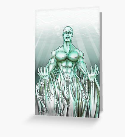 Mechanical Sea Greeting Card