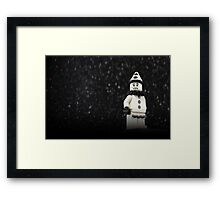 Tears of a Clown Framed Print