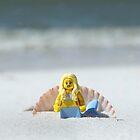 Mermaid - Day at the Beach by emmkaycee