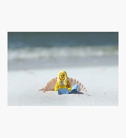 Mermaid - Day at the Beach Photographic Print