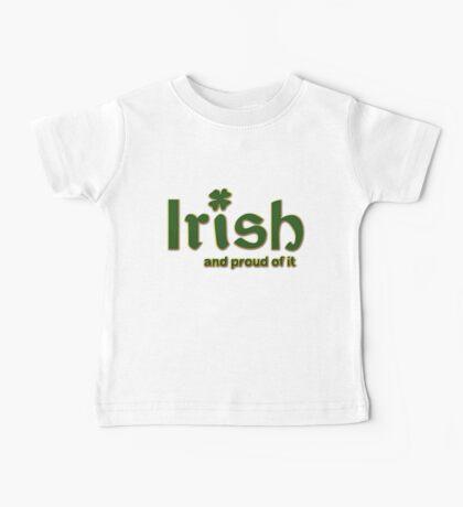 Irish And Proud Of It Baby Tee