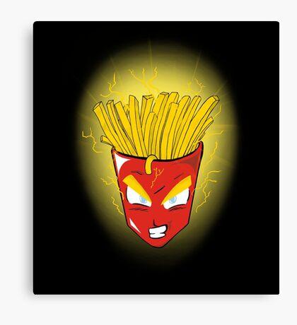 Saiyan s fries Canvas Print