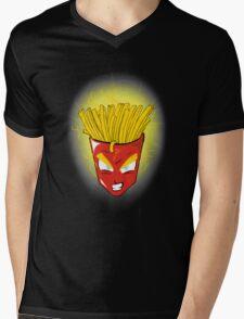 Saiyan s fries Mens V-Neck T-Shirt