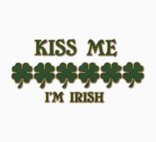Kiss Me I'm Irish Kids Tee