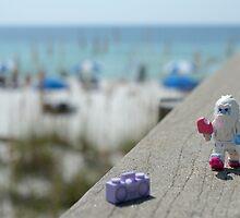 Yeti - Strolling on the Boardwalk by emmkaycee
