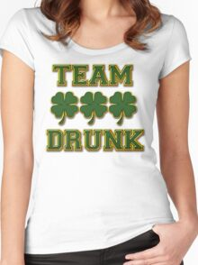 Irish Drinking Women's Fitted Scoop T-Shirt