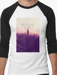 WELCOME TO NEW YORK Men's Baseball ¾ T-Shirt
