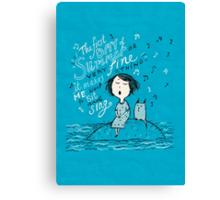 A Little Summer Song Canvas Print
