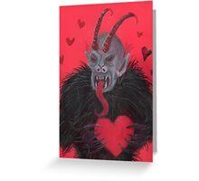 Krampus love Greeting Card