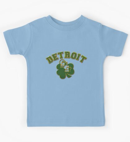 Detroit Irish Kids Tee