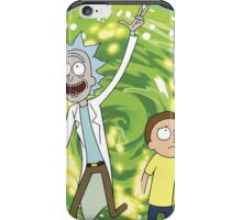 Rick and morty (waiting season 3) iPhone Case/Skin