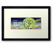 Rick and morty (waiting season 3) Framed Print