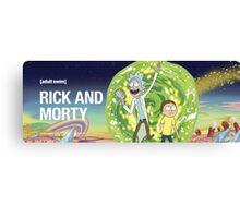 Rick and morty (waiting season 3) Canvas Print