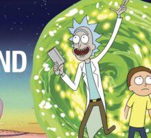Rick and morty (waiting season 3) Sticker